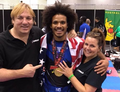 Darian Weeks Takes Gold In Australia