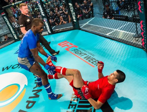 UFC® RENEWS PARTNERSHIP WITH IMMAF