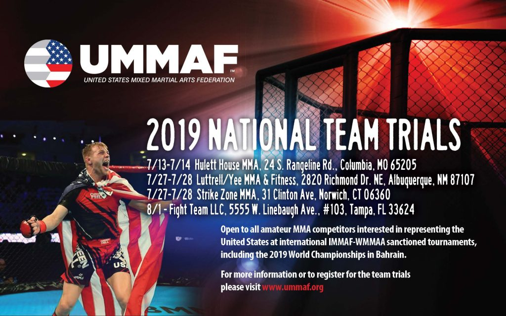 UMMAF Team Trials 2019 MMA Fighter